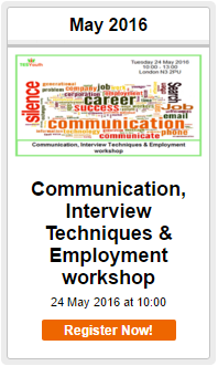 Communication, Interview Techniques & Employment workshop in Finchley