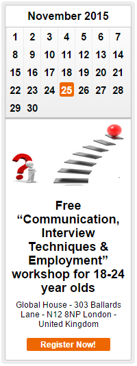 Free Communication, Interview Techniques and Employment Workshop in North Finchley