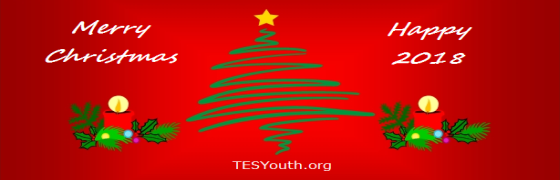 Merry Christmas & Happy 2018 from TESYouth