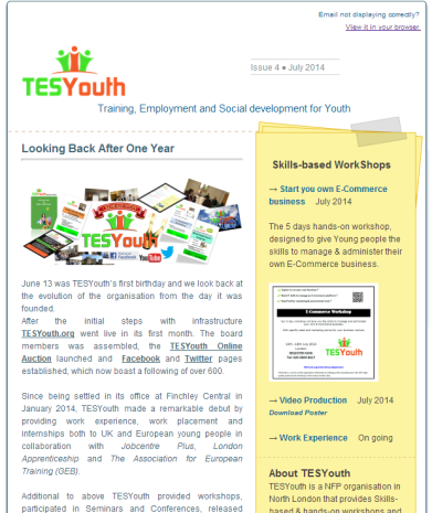 TESYouth News July04 Issue