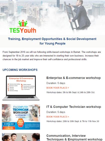 TESYouth News August 2016
